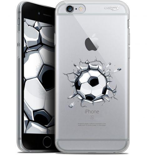 "Coque Gel Apple iPhone 6/6s (4.7"") Extra Fine Motif - Le Balon de Foot"