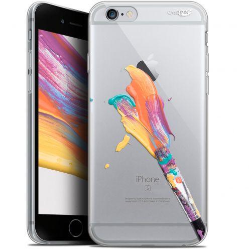 """Coque Gel Apple iPhone 6/6s (4.7"""") Extra Fine Motif -  Pinceau de Peinture"""