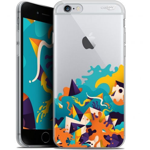"Coque Gel Apple iPhone 6/6s (4.7"") Extra Fine Motif -  Les Vagues"