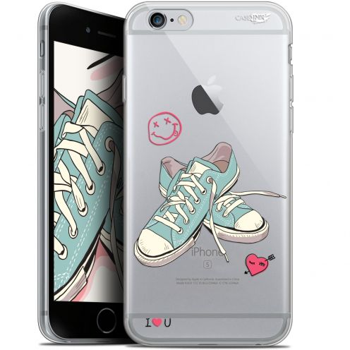 "Coque Gel Apple iPhone 6/6s (4.7"") Extra Fine Motif -  Mes Sneakers d'Amour"
