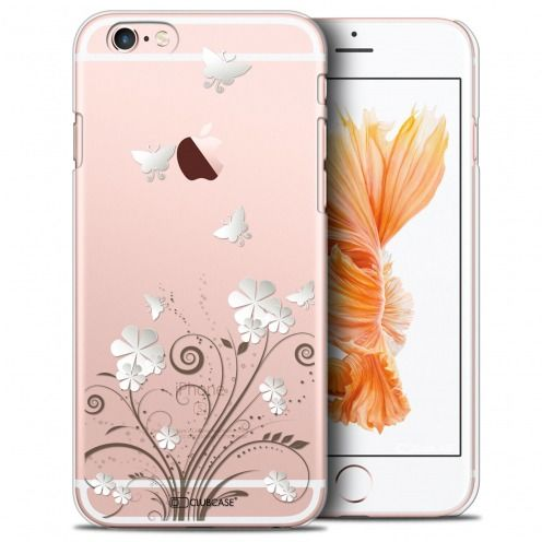 Coque Crystal iPhone 6/6s Extra Fine Summer - Papillons