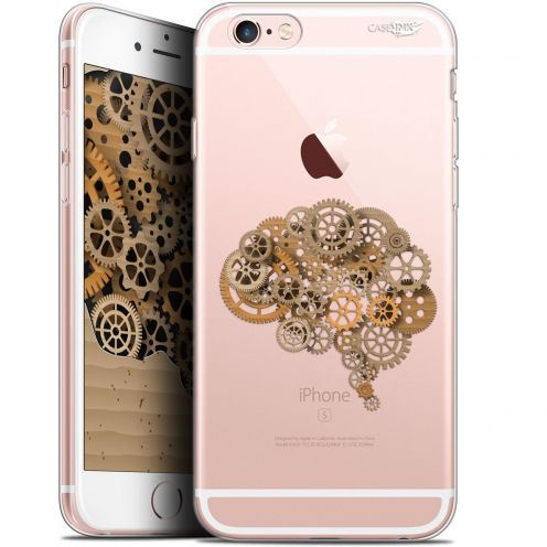 "Coque Gel Apple iPhone 6/6s (4.7"") Extra Fine Motif - Mécanismes du Cerveau"