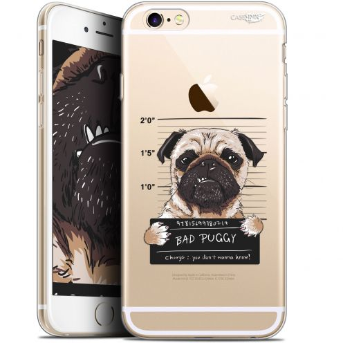 "Coque Gel Apple iPhone 6/6s (4.7"") Extra Fine Motif -  Beware The Puggy Dog"