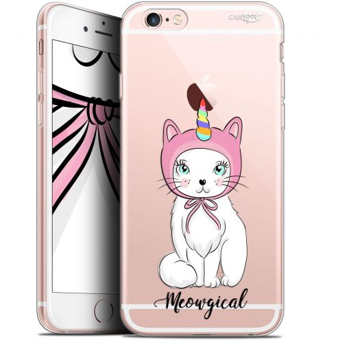 "Coque Gel Apple iPhone 6/6s (4.7"") Extra Fine Motif - Ce Chat Est MEOUgical"