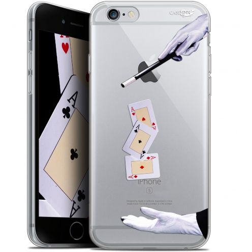 "Coque Gel Apple iPhone 6/6s (4.7"") Extra Fine Motif -  Cartes Magiques"