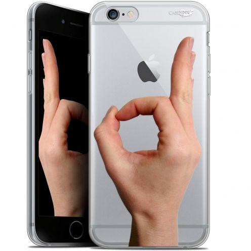 "Coque Gel Apple iPhone 6/6s (4.7"") Extra Fine Motif -  Le Jeu du Rond"