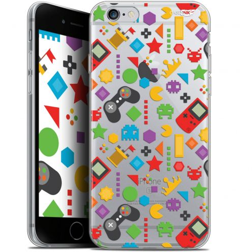 "Coque Gel Apple iPhone 6 Plus/ iPhone 6s Plus (5.5"") Extra Fine Motif - PacMan"