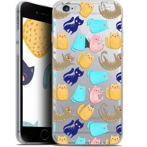 "Coque Gel Apple iPhone 6 Plus/ iPhone 6s Plus (5.5"") Extra Fine Motif - Chat Danse"
