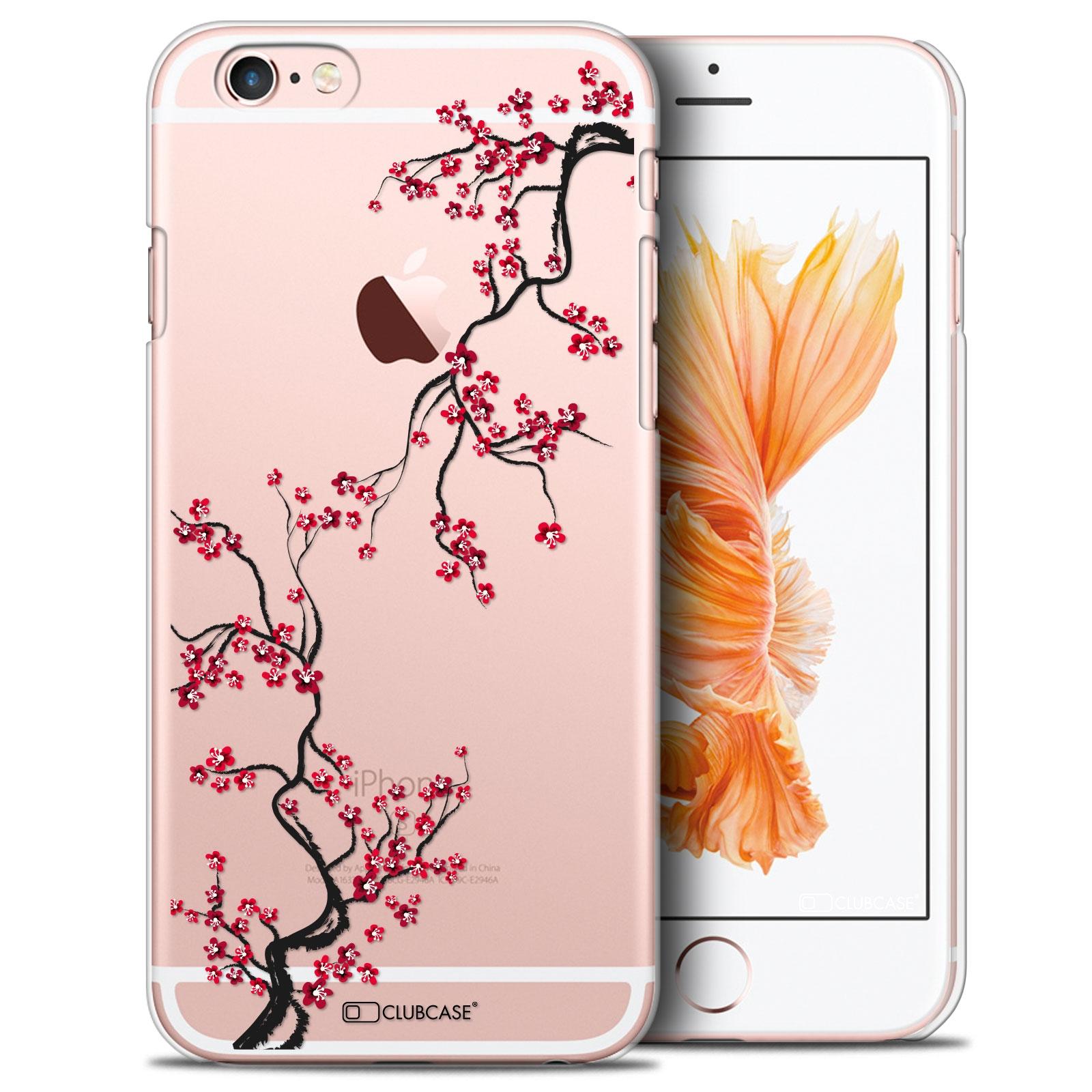 coque crystal iphone 6 6s extra fine design made in france sakura. Black Bedroom Furniture Sets. Home Design Ideas