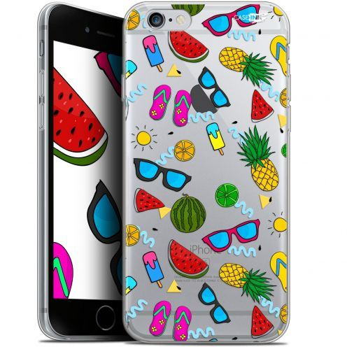 "Coque Gel Apple iPhone 6 Plus/ iPhone 6s Plus (5.5"") Extra Fine Motif -  Summers"