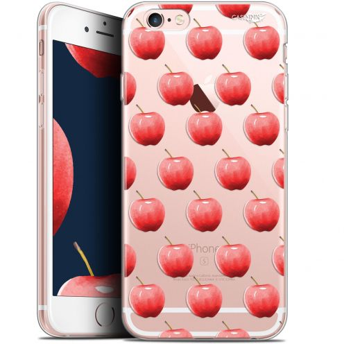 "Coque Gel Apple iPhone 6 Plus/ iPhone 6s Plus (5.5"") Extra Fine Motif -  Cerises"