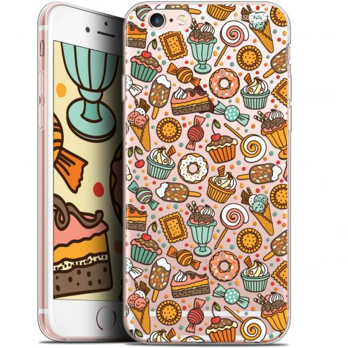 "Coque Gel Apple iPhone 6 Plus/ iPhone 6s Plus (5.5"") Extra Fine Motif -  Bonbons"