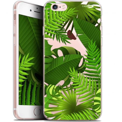 "Coque Gel Apple iPhone 6 Plus/ iPhone 6s Plus (5.5"") Extra Fine Motif -  Plantes des Tropiques"
