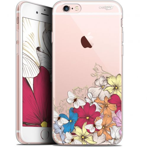 "Coque Gel Apple iPhone 6 Plus/ iPhone 6s Plus (5.5"") Extra Fine Motif -  Nuage Floral"