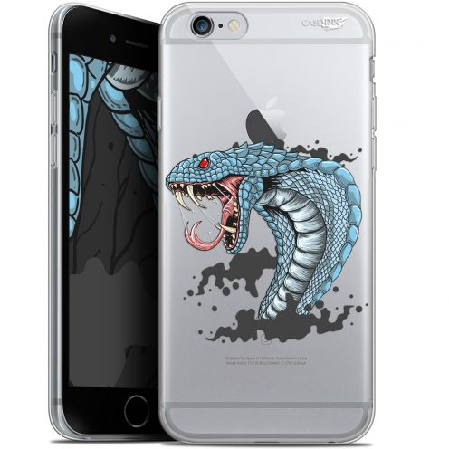 "Coque Gel Apple iPhone 6 Plus/ iPhone 6s Plus (5.5"") Extra Fine Motif -  Cobra Draw"