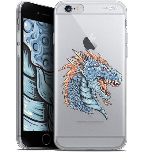 "Coque Gel Apple iPhone 6 Plus/ iPhone 6s Plus (5.5"") Extra Fine Motif - Dragon Draw"