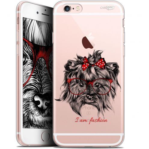 "Coque Gel Apple iPhone 6 Plus/ iPhone 6s Plus (5.5"") Extra Fine Motif -  Fashion Dog"