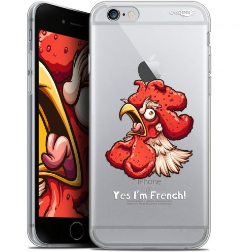 "Coque Gel Apple iPhone 6 Plus/ iPhone 6s Plus (5.5"") Extra Fine Motif -  I'm French Coq"