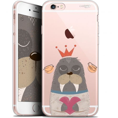 "Coque Gel Apple iPhone 6 Plus/ iPhone 6s Plus (5.5"") Extra Fine Motif -  Sketchy Walrus"