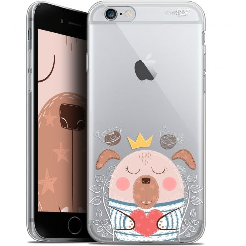 "Coque Gel Apple iPhone 6 Plus/ iPhone 6s Plus (5.5"") Extra Fine Motif -  Sketchy Dog"