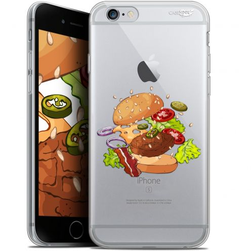 "Coque Gel Apple iPhone 6 Plus/ iPhone 6s Plus (5.5"") Extra Fine Motif -  Splash Burger"