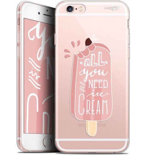 "Coque Gel Apple iPhone 6 Plus/ iPhone 6s Plus (5.5"") Extra Fine Motif - Ice Cream"