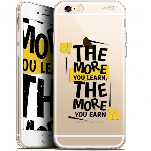 "Coque Gel Apple iPhone 6 Plus/ iPhone 6s Plus (5.5"") Extra Fine Motif -  The More You Learn"