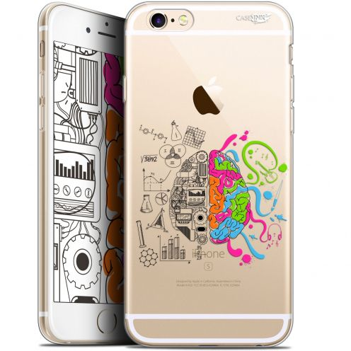 "Coque Gel Apple iPhone 6 Plus/ iPhone 6s Plus (5.5"") Extra Fine Motif -  Le Cerveau"