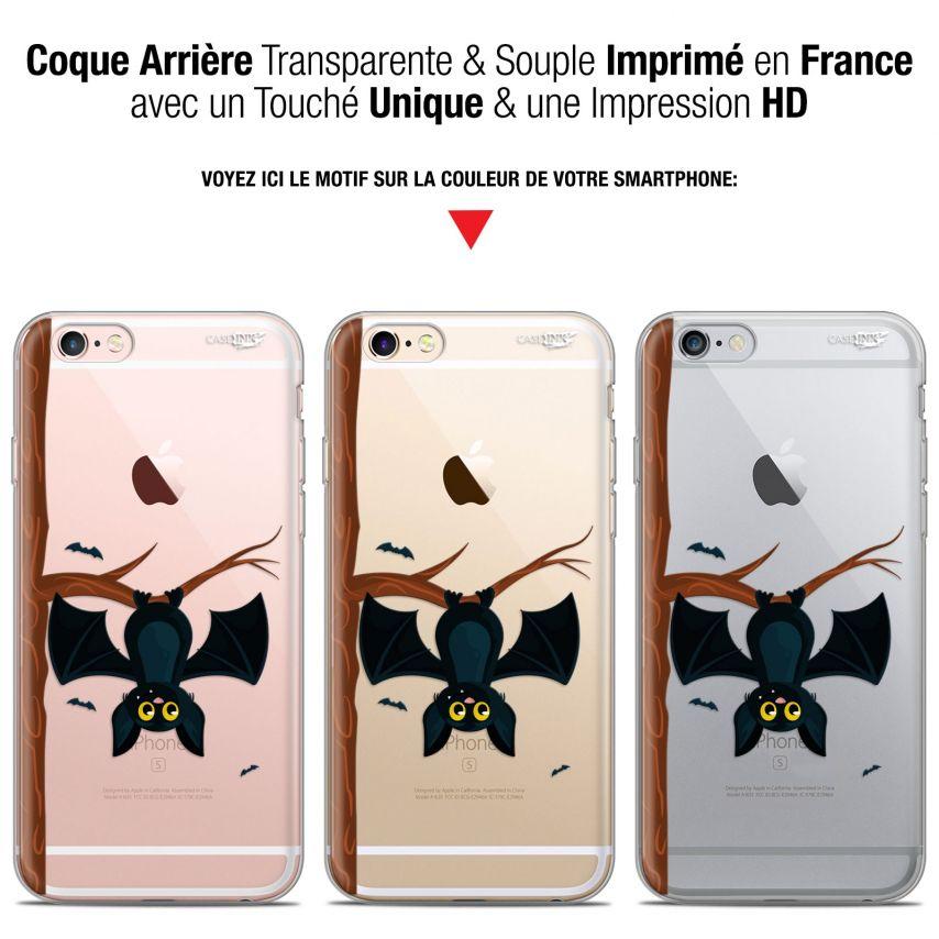 """Coque Gel Apple iPhone 6 Plus/ iPhone 6s Plus (5.5"""") Extra Fine Motif - Petite Chauve Souris"""