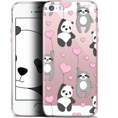 "Coque Gel Apple iPhone 5/5s/SE (4"") Extra Fine Motif -  Panda'mour"