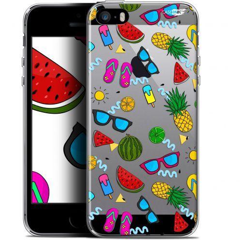 "Coque Gel Apple iPhone 5/5s/SE (4"") Extra Fine Motif -  Summers"