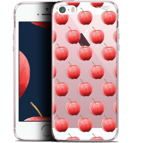 "Coque Gel Apple iPhone 5/5s/SE (4"") Extra Fine Motif -  Cerises"