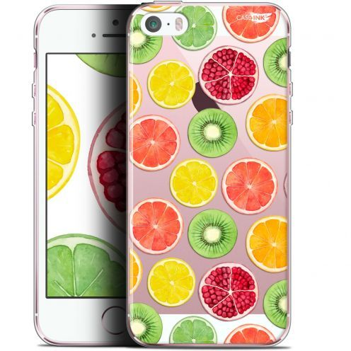 "Coque Gel Apple iPhone 5/5s/SE (4"") Extra Fine Motif -  Fruity Fresh"