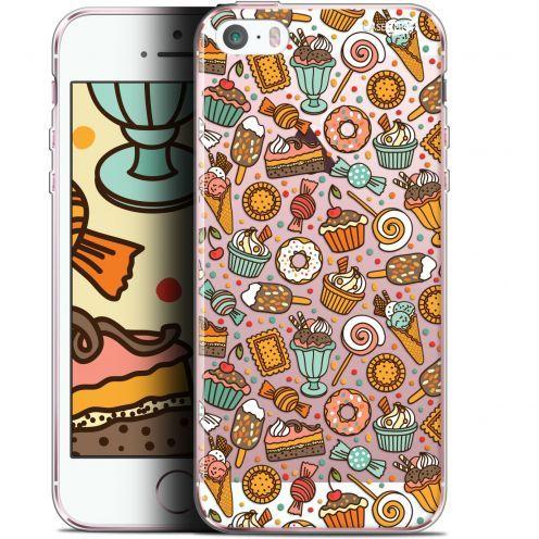 "Coque Gel Apple iPhone 5/5s/SE (4"") Extra Fine Motif -  Bonbons"