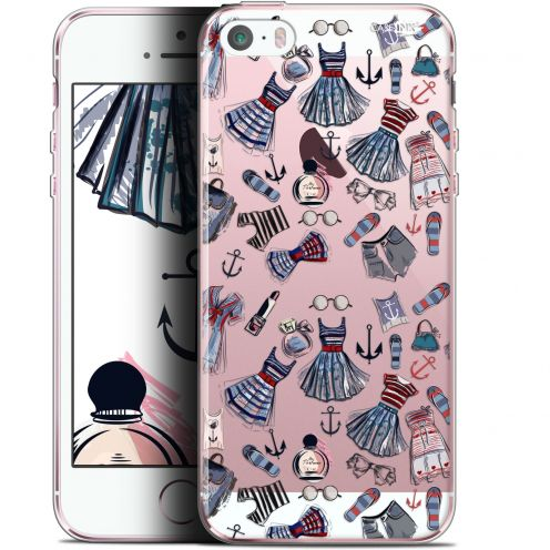 "Coque Gel Apple iPhone 5/5s/SE (4"") Extra Fine Motif -  Fashionista"