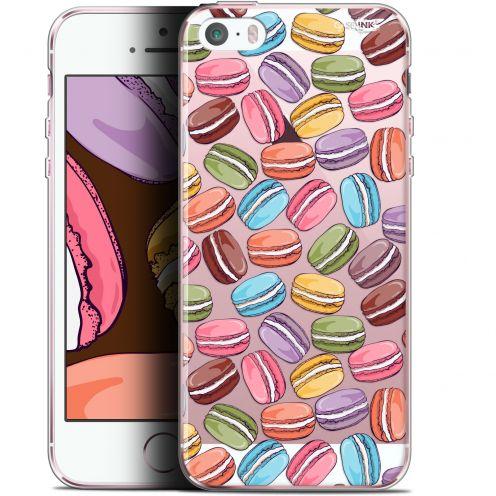 "Coque Gel Apple iPhone 5/5s/SE (4"") Extra Fine Motif - Macarons"
