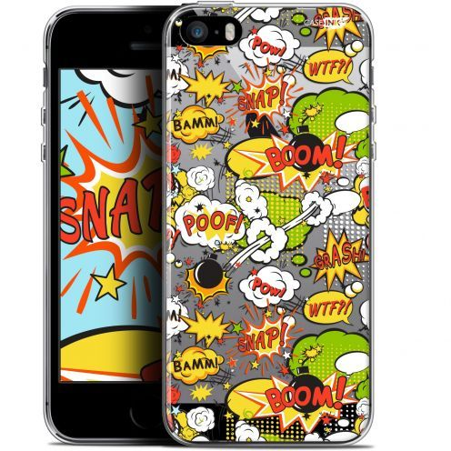 "Coque Gel Apple iPhone 5/5s/SE (4"") Extra Fine Motif - Bim Bam Boom"