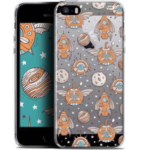 "Coque Gel Apple iPhone 5/5s/SE (4"") Extra Fine Motif - Punk Space"