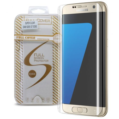 Protection d'écran Verre trempé Samsung Galaxy S7 Edge Full Cover Ultra Clear – 9H HD 0.33mm 2.5D