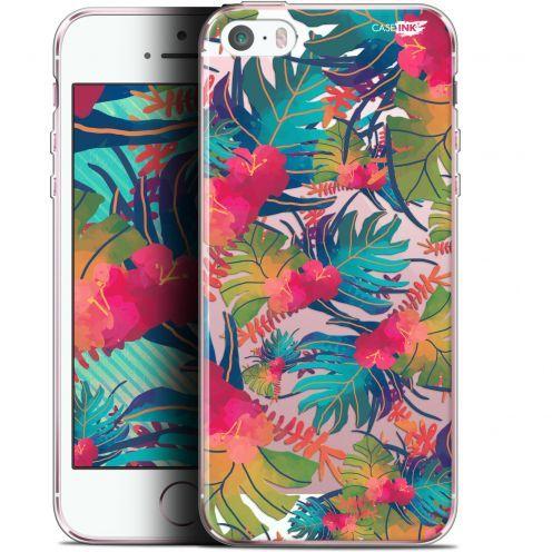 """Coque Gel Apple iPhone 5/5s/SE (4"""") Extra Fine Motif - Couleurs des Tropiques"""