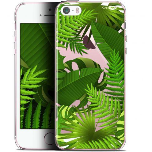 """Coque Gel Apple iPhone 5/5s/SE (4"""") Extra Fine Motif - Plantes des Tropiques"""