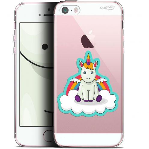"Coque Gel Apple iPhone 5/5s/SE (4"") Extra Fine Motif -  Bébé Licorne"