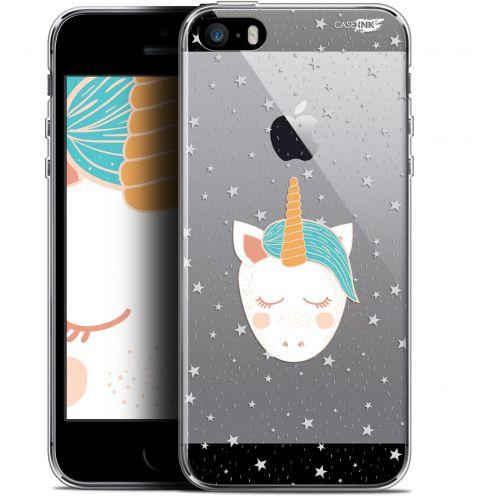 """Coque Gel Apple iPhone 5/5s/SE (4"""") Extra Fine Motif - Licorne Dors"""
