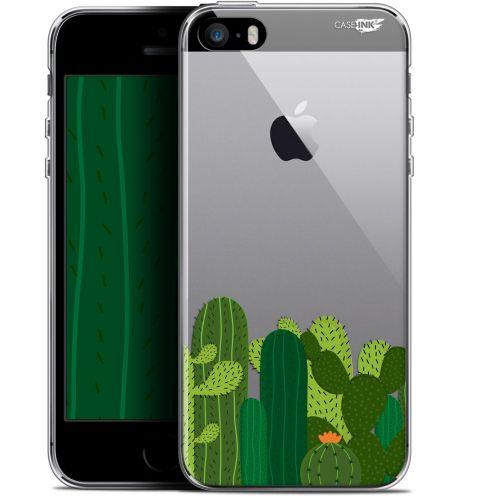 """Coque Gel Apple iPhone 5/5s/SE (4"""") Extra Fine Motif - Cactus"""