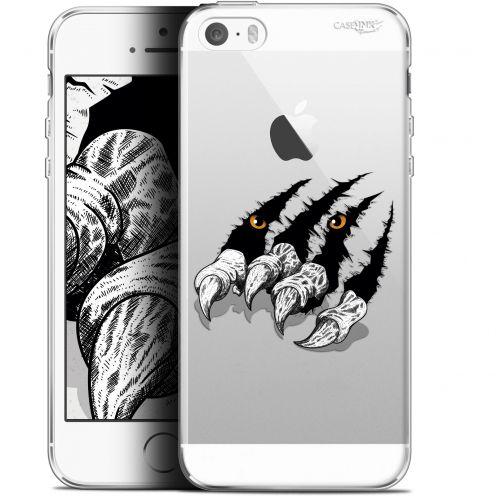 """Coque Gel Apple iPhone 5/5s/SE (4"""") Extra Fine Motif -  Les Griffes"""