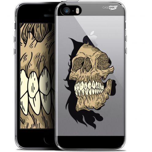 "Coque Gel Apple iPhone 5/5s/SE (4"") Extra Fine Motif - Craneur"