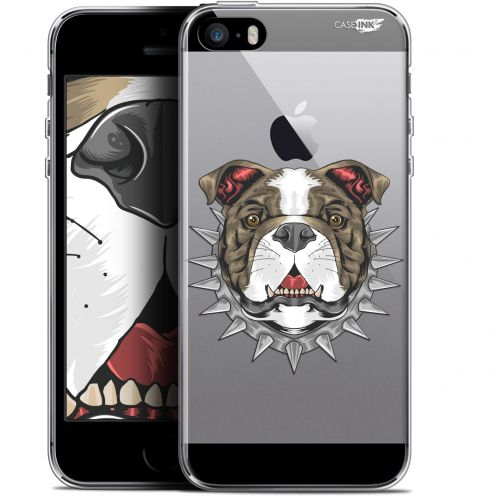 "Coque Gel Apple iPhone 5/5s/SE (4"") Extra Fine Motif -  Doggy"