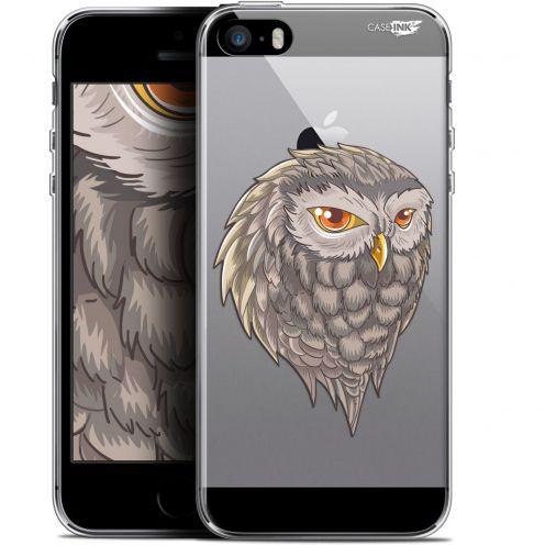 "Coque Gel Apple iPhone 5/5s/SE (4"") Extra Fine Motif - Hibou Draw"