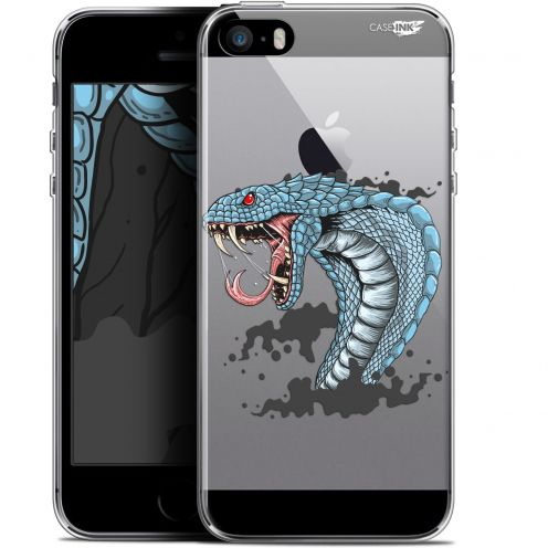 "Coque Gel Apple iPhone 5/5s/SE (4"") Extra Fine Motif - Cobra Draw"