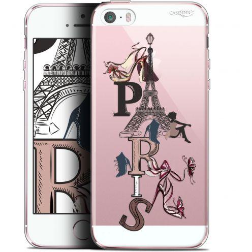 "Coque Gel Apple iPhone 5/5s/SE (4"") Extra Fine Motif - Stylish Paris"